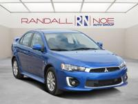 CARFAX One-Owner. Blue 2016 Mitsubishi Lancer ES FWD