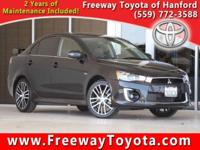 CARFAX One-Owner. Clean CARFAX. Black 2016 Mitsubishi