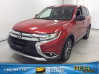 Rally Red Metallic 2016 Mitsubishi Outlander ES 4WD CVT