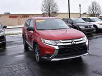 This 2016 Mitsubishi Outlander ES is proudly offered by