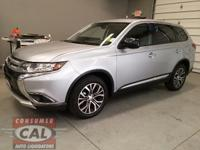 Options:  2016 Mitsubishi Outlander Awc 4Dr Es|4