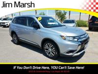 Mitsubishi Outlander, 2016 one-owner vehicle with a