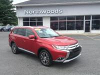 CARFAX One-Owner. Chrome 2016 Mitsubishi Outlander GT