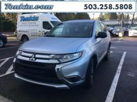 WOW!!! Check out this. 2016 Mitsubishi Outlander Silver