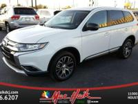Options:  2016 Mitsubishi Outlander|White/|V4 2.4 L
