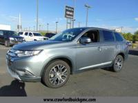 Come see this 2016 Mitsubishi Outlander SE. Its