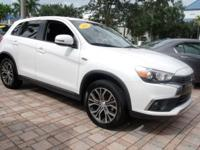 Options:  2016 Mitsubishi Outlander Sport|White|6.466