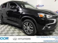 Mitsubishi Outlander Sport ES CARFAX One-Owner. VEHICLE