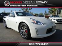 SPORT TECH NAV KIT. Nissan Certified, Pearl White, ABS