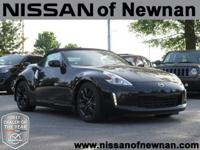 CARFAX One-Owner. Clean CARFAX. Black 2016 Nissan 370Z