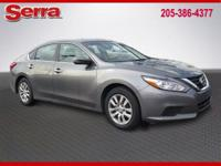 Gray 2016 Nissan Altima 2.5 FWD CVT with Xtronic 2.5L