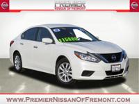 Clean CARFAX. Certified. Glacier White 2016 Nissan
