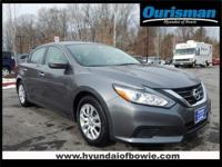 CARFAX One-Owner. Clean CARFAX. Gray 2016 Nissan Altima