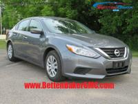 Options:  2016 Nissan Altima 4Dr Sdn I4 2.5 S|4