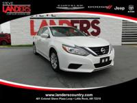 CARFAX One-Owner. Glacier White 2016 Nissan Altima 2.5