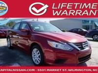 2016 Nissan Altima. CVT with Xtronic. The car you've