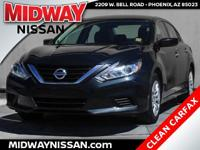 New Price!2016 Nissan Altima 2.5 S Storm Blue 2.5L