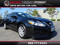 Carfax 1-Owner!. Altima 2.5 S, Nissan Certified, and