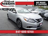 2016 Nissan Altima SV Certified Warranty and CARFAX