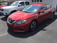 2016 Nissan Altima 2.5 SR ** Sport 2 tone red and black