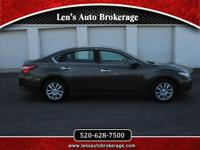 Options:  2016 Nissan Altima Great Driver! Clean And
