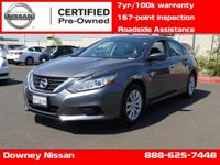 ATTENTION !!! NISSAN CERTIFIED PRE-OWNED !!! In a class