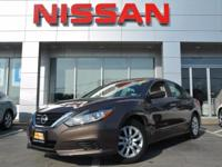 This Nissan Certified 2016 Nissan Altima 2.5 S   is