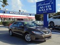 Options:  2016 Nissan Altima 2.5 S|Brown|Cvt With