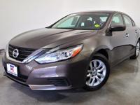 Altima 2.5 S, Nissan Certified, 4D Sedan, 2.5L