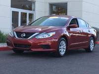 CARFAX One-Owner.  2016 Nissan Altima 2.5 S Priced
