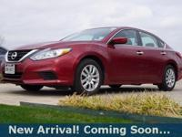 2016 Nissan Altima 2.5 S in Cayenne Red, This Altima