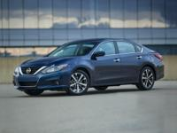 Altima 2.5, 4D Sedan, CVT with Xtronic, and Black. At