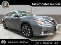 Options:  2016 Nissan Altima 2.5 Sl|Gray|Cvt With