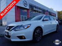 New Price! Certified. Pearl White 2016 Nissan Altima