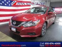 CARFAX One-Owner. Clean CARFAX. Red 2016 Nissan Altima