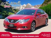 Delivers 37 Highway MPG and 26 City MPG! This Nissan