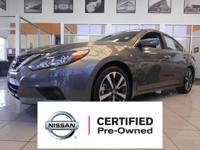 Certified. CVT with Xtronic, ABS brakes, Electronic