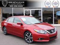 PRE-OWNED 2016 NISSAN ALTIMA --RED AND GREY-- CARFAX