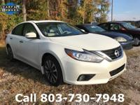 Options:  2016 Nissan Altima 2.5 Sv|White|Carfax