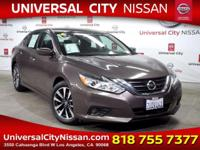 Clean CARFAX. Certified. Pewter 2016 Nissan Altima 2.5