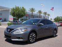 This 2016 Nissan Altima 2.5 SV includes a push button
