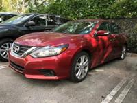 Options:  2016 Nissan Altima 3.5 Sl|Cayenne Red/|V6 3.5
