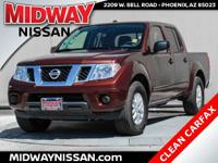 New Price!2016 Nissan Frontier SV Forged Copper 4.0L V6