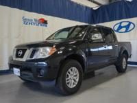 Black 2016 Nissan Frontier SL 4WD 5-Speed Automatic