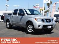 Brilliant Silver 2016 Nissan Frontier SV RWD 5-Speed