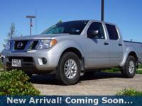 2016 Nissan Frontier SV in Brilliant Silver, This