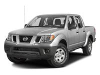 2016 Nissan Frontier Brilliant Silver  New Price!