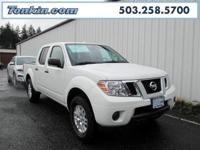 New Price! 2016 Nissan Frontier 4.0L V6 DOHC White