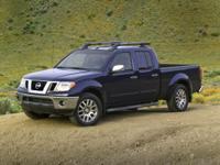 Nissan Frontier 2016 Blue 4WD.  Options:  Black Side