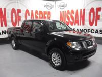 This 2016 Nissan Frontier  has a V6, 4.0L; DOHC 24V
